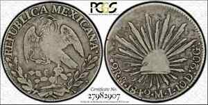 Click now to see the BUY IT NOW Price! 1842 MO ML 2R REALE PCGS VG10