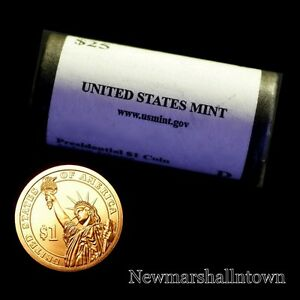 Click now to see the BUY IT NOW Price! 2012 D CLEVELAND [24] PRESIDENTIAL DOLLAR MINT ROLL   SET OF 25 COINS 2017 29