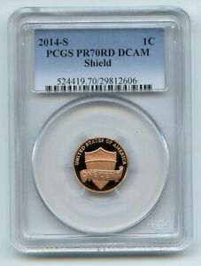 Click now to see the BUY IT NOW Price! 2014 S 1C LINCOLN CENT PCGS PR70DCAM
