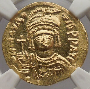 Click now to see the BUY IT NOW Price! MAURICE TIBERIUS 583AD CONSTANTIPLE GOLD BYZANTINE COIN NGC CERTIFIED MS I54534