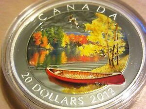 Click now to see the BUY IT NOW Price! 1 OZ FINE SILVER COIN   AUTUMN BLISS   MINTAGE: 7500  2013