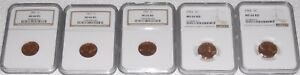 Click now to see the BUY IT NOW Price! NGC MS 66  5  1962 P  3  1962 D  1  1963 P  3  1963 D LINCOLN MEMORIAL CENT LOT
