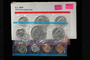 Click now to see the BUY IT NOW Price! 1974 US MINT SET UNCIRCULATED COINS DOUBLE DIE DENVER KENNEDY HALF DOLLAR FS 101