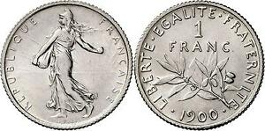 Click now to see the BUY IT NOW Price! M1771 RARISSIME 1 FRANC SEMEUSE 1900 ARGENT SILVER FDC > FAIRE OFFRE
