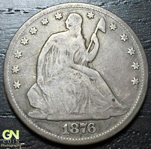 1876 P SEATED LIBERTY HALF DOLLAR      MAKE US AN OFFER   W3229 ZXCV