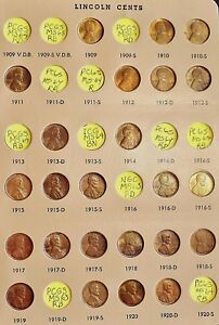 Click now to see the BUY IT NOW Price! LINCOLN WHEAT CENTS   COMPLETE SET    CHOICE/GEM BU   KEYS ARE PCGS CERTIFIED