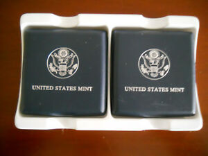 2  1999 U.S. MINT SUSAN B. ANTHONY PROOF COINS WITH PRESENTATION CASE AND COA