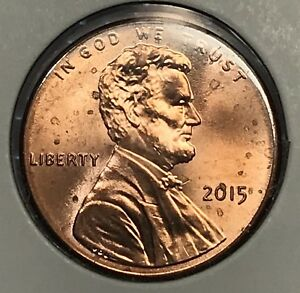 2015 LINCOLN SHIELD CENT. COLLECTOR COIN FOR YOUR SET OR COLLECTION.8