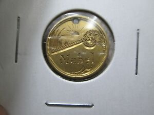 MABEL FANCY LOVE TOKEN 2.5 DOLLAR LIBERTY GOLD COIN IN FINE CONDITION