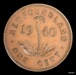 Click now to see the BUY IT NOW Price! NEWFOUNDLAND ONE CENT DOUBLE ENGRAVED 1940 A947