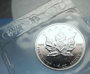 Click now to see the BUY IT NOW Price! 1991 CANADA AUTHENTIC SILVER 1OZ COIN UK QUEEN ELIZABETH II & MAPLE LEAF I70901