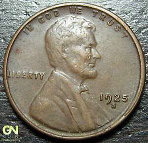 1925 S LINCOLN CENT WHEAT PENNY      MAKE US AN OFFER   Y9198