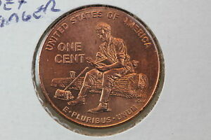 2009 LINCOLN CHRONICLES CENT MS FORMATIVE YEARS DOUBLE DIE REVERSE DOUBLED INDE