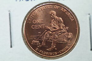 2009 LINCOLN CHRONICLES CENT MS TWO EXTRA THUMBS MINT ERROR