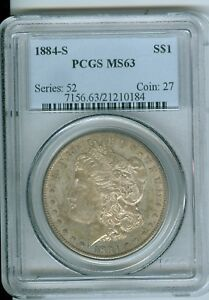 Click now to see the BUY IT NOW Price! PCGS MS 63 1884 S MORGAN DOLLAR  TONED