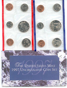 1997 US P&D MINT SET      $1.5 MILLION IN EBAY SALES ZZ1