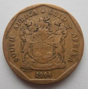 SOUTH AFRICA 20 CENTS 1994