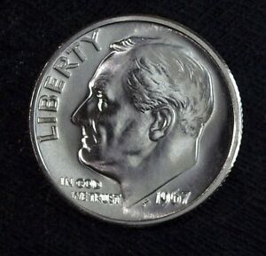 1967 SPECIAL MINT SET BRILLIANT UNCIRCULATED ROOSEVELT DIME