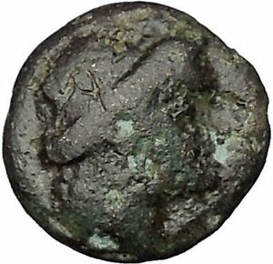 ODESSOS IN THRACE 281BC GREAT GOD DERZELAS & APOLLO ANCIENT GREEK COIN I47851