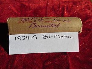 1954 S LINCOLN CENT ROLL ERROR COINS BI METAL VARIETY 50 CIRCULATED CENTS