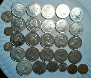 AUSTRALIA NEW ZEALAND LOT OF 29 COINS ALL NICE