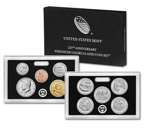 Click now to see the BUY IT NOW Price! LOT 25 2017 S 225TH ANNIVERSARY ENHANCED UNC 10 COIN US MINT SET SEALED BOX