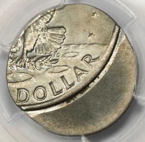 Click now to see the BUY IT NOW Price! PCGS MS64 OFF CENTER ON A 6 GRAM TAIWAN $1 PLANCHET IKE DOLLAR MINT ERROR UNIQUE