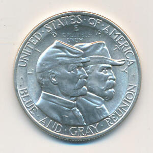 1936 GETTYSBURG COMMEMORATIVE HALF DOLLAR. UNCIRCULATED