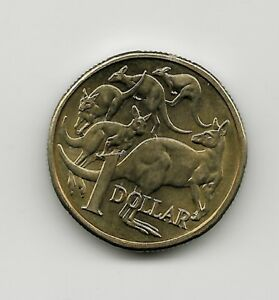 WORLD COINS   AUSTRALIA 1 DOLLAR 1985 COIN KM 84