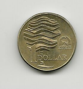 WORLD COINS   AUSTRALIA 1 DOLLAR 1993 COMMEMORATIVE COIN KM 208