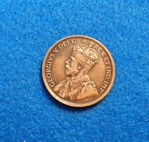 1916 1C RB CANADA CENT   FANTASTIC OLD COIN