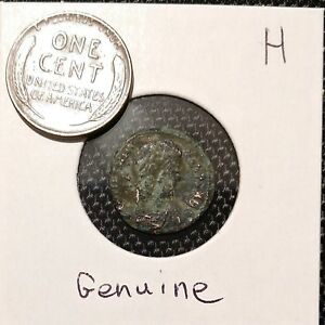 ANCIENT ROMAN COIN OVER 1 500 YEARS OLD    H