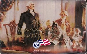 KAPPYSWHOLESALE  2007 PRESIDENTIAL DOLLAR 4 COIN PROOF SET WITH  BOX AND COA