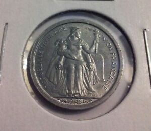 1949 FRENCH OCEANIA 50 CENTIMES COIN   KM1   IN4026