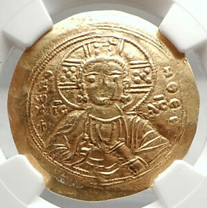 Click now to see the BUY IT NOW Price! MANUEL I COMNENUS 1143AD JESUS CHRIST ANCIENT GOLD BYZANTINE COIN NGC I75095