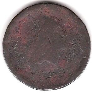 1793 FLOWING HAIR CHAIN CENT  S3    AG