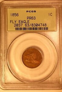 Click now to see the BUY IT NOW Price! 1856 FLYING EAGLE CENT PR 63 PCGS OGH GREAT PROVENANCE UPGRADE POTENTIAL