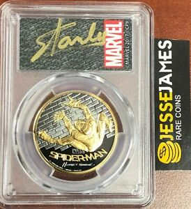 Click now to see the BUY IT NOW Price! 2017 $200 GOLD SPIDERMAN HOMECOMING PCGS PR70 FIRST DAY ISSUE STAN LEE SIGNED