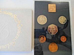 1976 ROYAL MINT 6 COIN PROOF SET. GB & NORTHERN IRELAND IN ORIGINAL SLEEVE