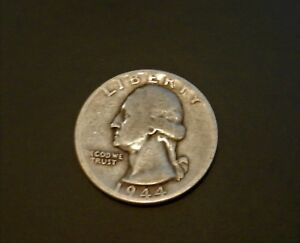 1944 U.S. QUARTER   LY NICE SILVER COIN   SEE PICS