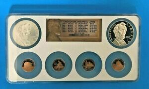 2009 PROOF LINCOLN COIN BICENTENNIAL CHRONICLES SET NGC 2 LINCOLN DOLLARS      M