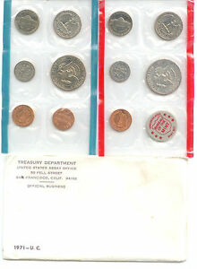 1971 US P&D MINT SET      $1.5 MILLION IN EBAY SALES ZF1
