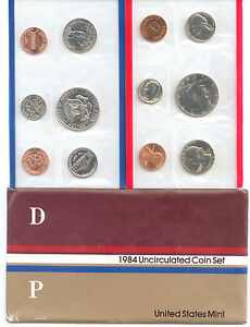 1984 US P&D MINT SET       $1.5 MILLION IN EBAY SALES   ZF1