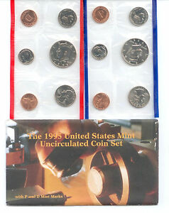1995 US P&D MINT SET       $1.5 MILLION IN EBAY SALES ZF1