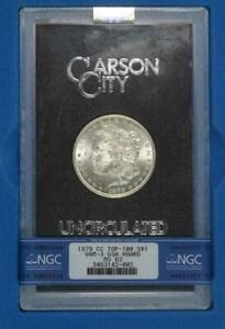 Click now to see the BUY IT NOW Price! 1879 CC MORGAN SILVER DOLLAR GSA NGC MS 63 VAM 3