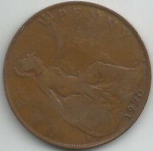 GB 1920 GEORGE V  PENNY COIN