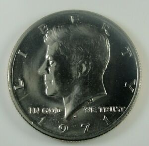 1971 D KENNEDY HALF DOLLAR BRILLIANT UNCIRCULATED  HG