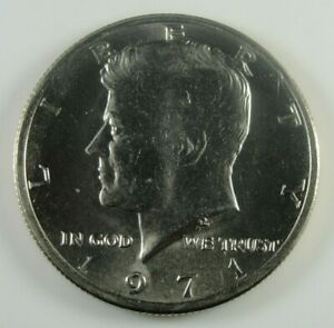 1971 P KENNEDY HALF DOLLAR BRILLIANT UNCIRCULATED  HG