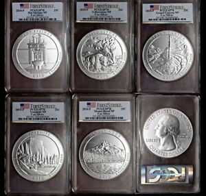 Click now to see the BUY IT NOW Price! 2010 P SILVER 5OZ ATB NP SERIES SET PCGS SP70 FS | 1ST YEAR OF ISSUE | 5 COINS