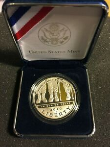 2010 DISABLED AMERICAN VETERANS FOR LIFE COMMEMORATIVE WITH OGP